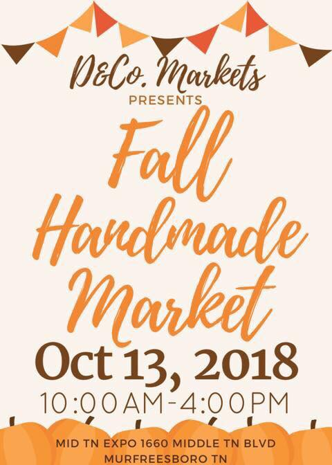 Fall Handmade Market - October 13, 2018